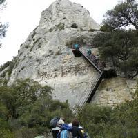St Remy  10 accés au Mont Gaussier