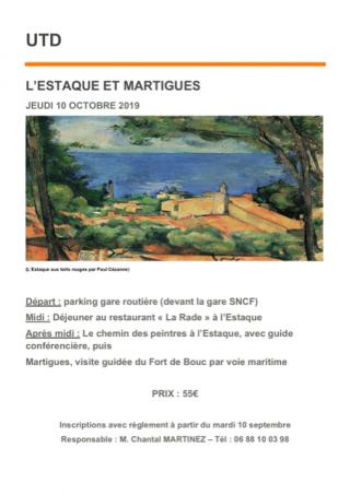 Martigues et L'Estaque - Octobre 2019