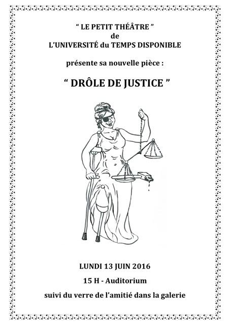 Affiche theatre 6 2016