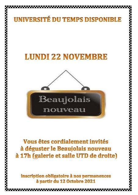 Beaujolais nouveau 1