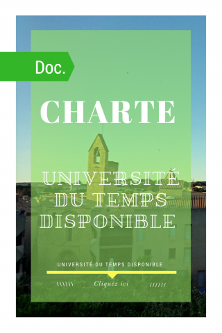 Charte des membres de i association universite du temps disponible