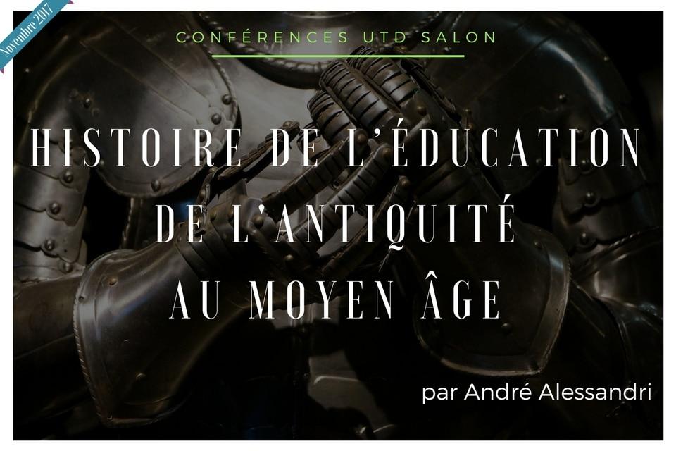 Conference novembre 2017 utd histoire de education