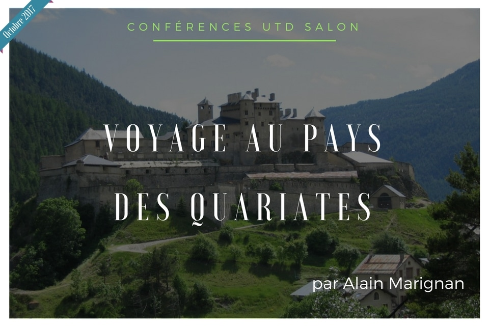Conference octobre 2017 utd quariates