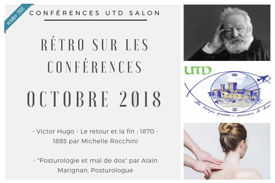 Conference utd octobre 2018
