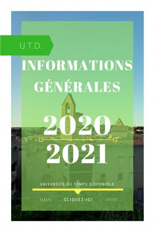 Informations generales utd salon de provence 2020 2021
