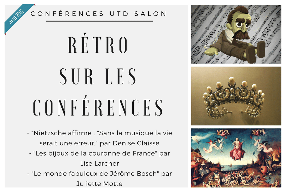 Retro sur les conferences avril 2017