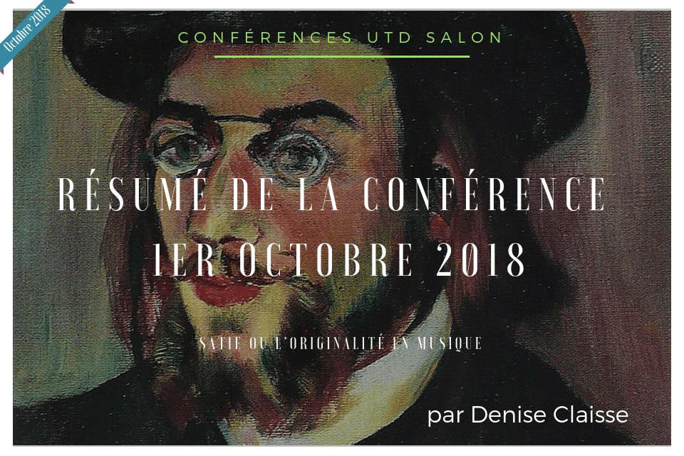 Satie conference utd